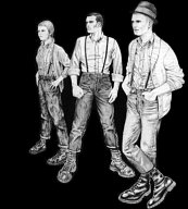 THREE SKINHEADS