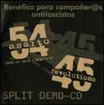 SPLIT DEMO-CD ASALTO 54 - 45 REVOLUTIONS